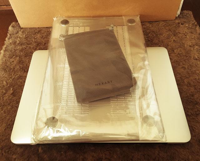 NEXARY MacBook Pro Retina 13 インチ クリスタル ハードケースのパッケージ内容