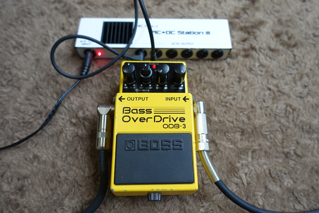 稼働中のBOSS Bass OverDrive ODB-3